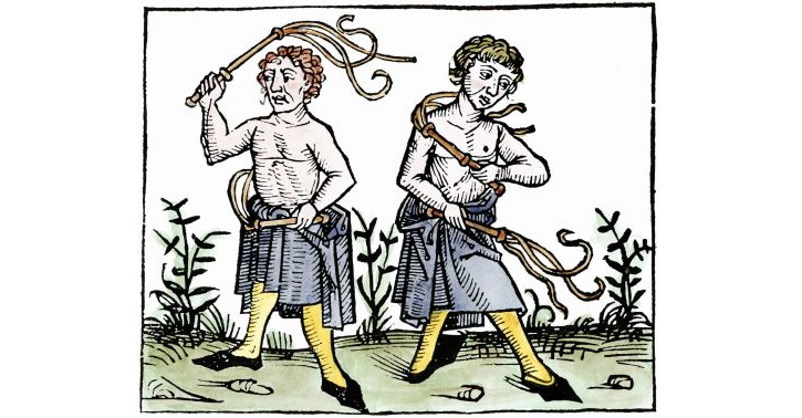 Medieval flagellants