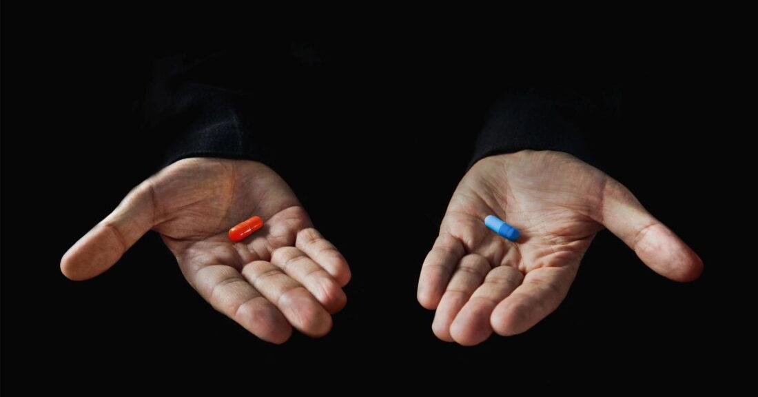 Matrix: Red pill or blue pill